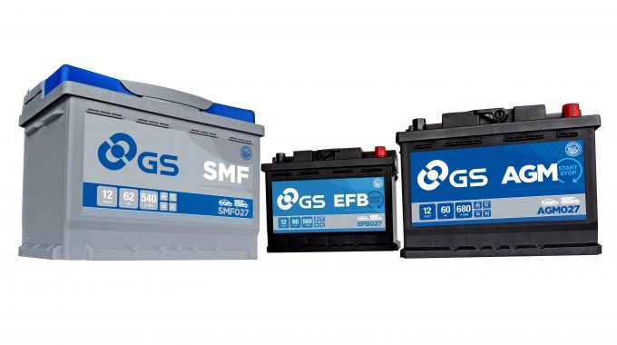 GS Launches New Automotive Battery Range