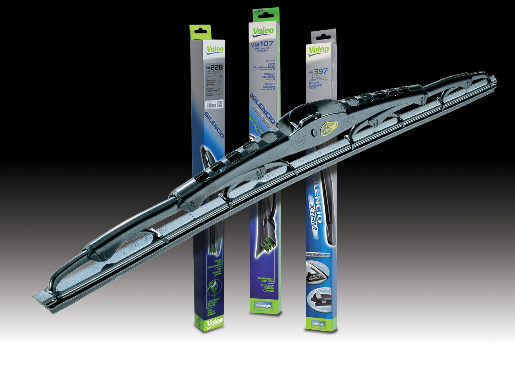 Valeo Silencio Wipers