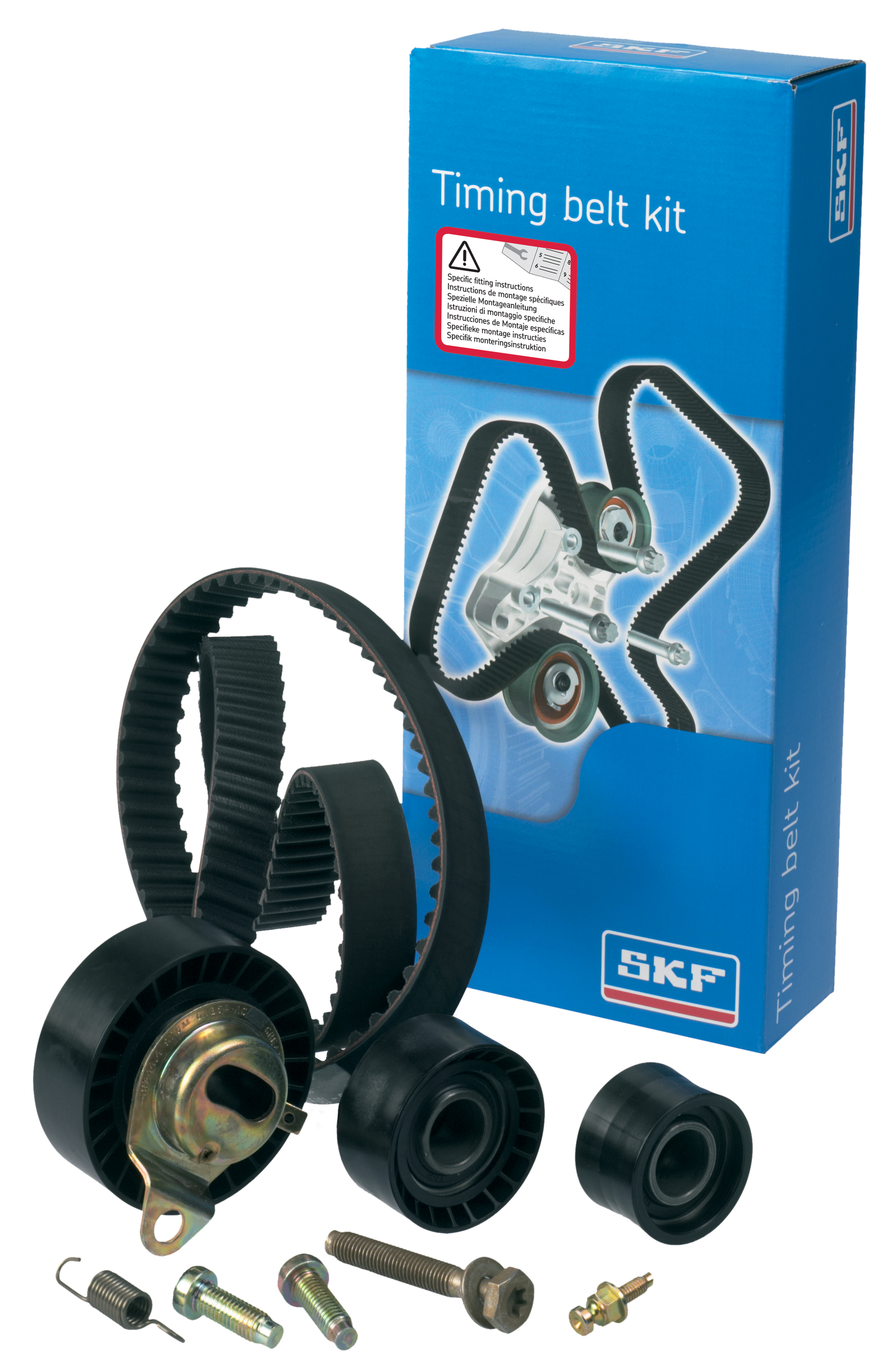 SKF Adds To Timing Belt Range At Serfac
