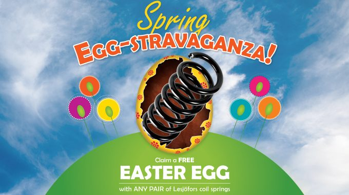 Serfac And Lesjofors Launch Spring Egg-stravaganza!