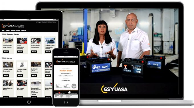 GS Yuasa Launches Revolutionary New Battery Training Platform