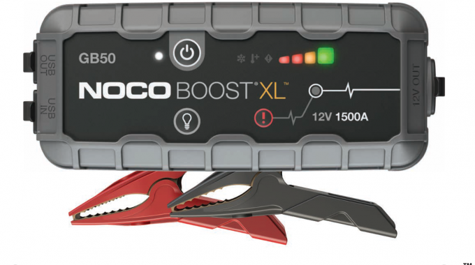 NOCO Launches All New GB50 Boost XL 1500A Ultra Safe Lithium Jump Starter